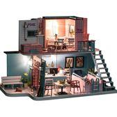 diy小屋手工創意房子模型拼裝木質小房子玩具禮物【南風小舖】