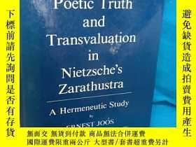 二手書博民逛書店Poetic罕見Truth and Transvaluation