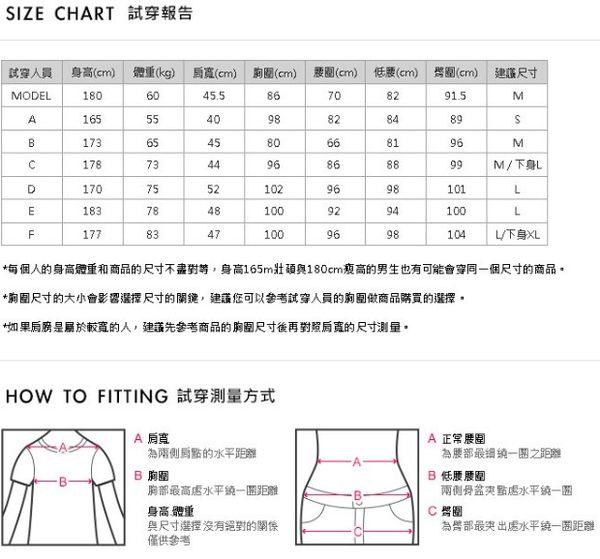CACO-滴膠章雙條紋短T-情侶款(二色)-男【SNC024】