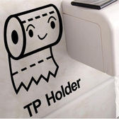 【BlueCat】TP HOLDER抽取式衛生紙裝飾壁貼 貼紙