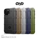 【愛瘋潮】QinD Apple iPhone 11 Pro (5.8吋) 戰術護盾保護套 背蓋 TPU套 手機殼 保護殼 鏡頭保護