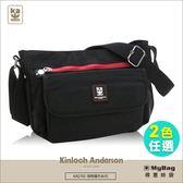 Kinloch Anderson 金安德森 側背包 極簡耀色 基本橫式斜側輕旅包(小款) KA174304 得意時袋 任選