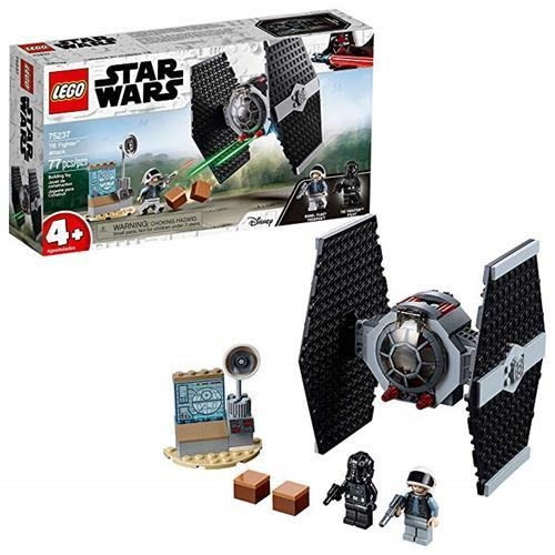LEGO 樂高  Star Wars TIE Fighter Attack 75237 4+ Building Kit , New 2019 (77 Pieces)