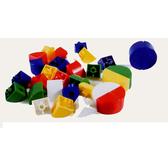 【USL遊思樂教具】1/4圓連接塊(5色,200pcs) C5007A01