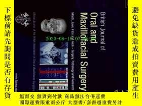 二手書博民逛書店British罕見Journal of Oral and Maxillofacial Surgery 12 201