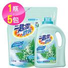 【一匙靈】歡馨幽谷鈴蘭香超濃縮洗衣精1+...