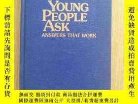 二手書博民逛書店Questions罕見Young People Ask Answ