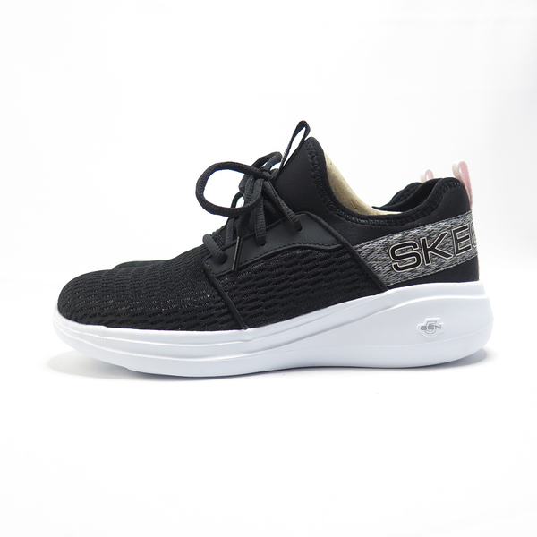 Skechers GO RUN FAST-GLIMMER 慢跑鞋 128012BKMV 女款 黑粉【iSport愛運動】