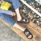 尾牙年貨節一字拖韓版防滑情侶沙灘涼鞋洛麗的雜貨鋪