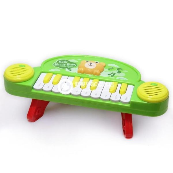 兒童電子琴麥克風鋼琴寶寶男女孩早教玩具1-3-6-8歲9音樂益智-Rtwj11