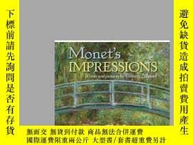 二手書博民逛書店【罕見】2009年版,Monet s Impressions;作