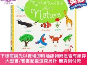 二手書博民逛書店罕見原版 我的自然生字啟蒙繪本 My First Word Book About Nat  Y454646 H