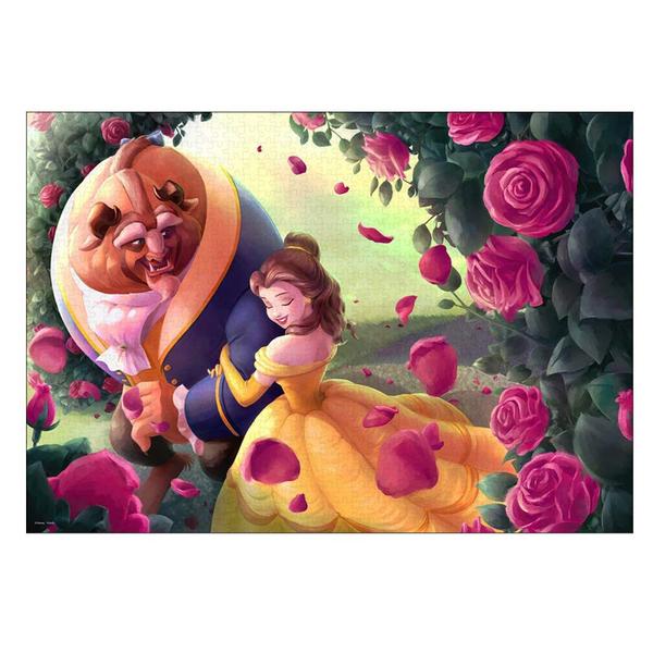 Tenyo拼圖 1000片 迪士尼家族 美女與野獸 玫瑰小徑_BF94060