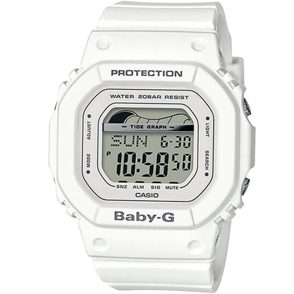 CASIO卡西歐BABY-G夏季衝浪運動腕錶 BLX-560-7 白