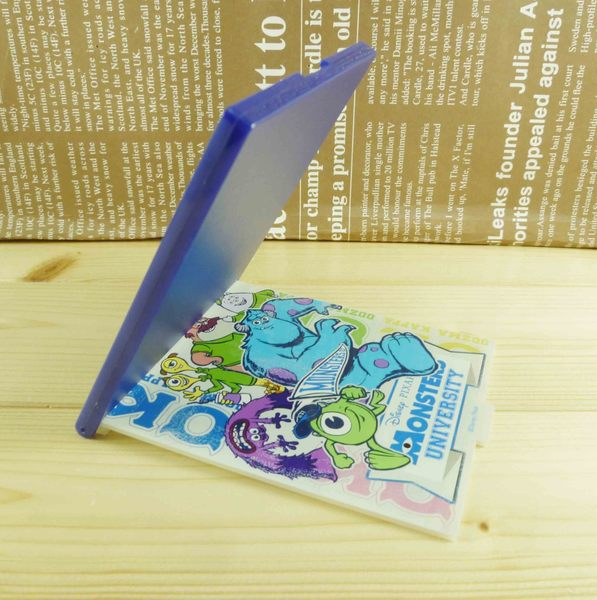 【震撼精品百貨】Monsters University_怪獸大學~摺疊鏡-藍色