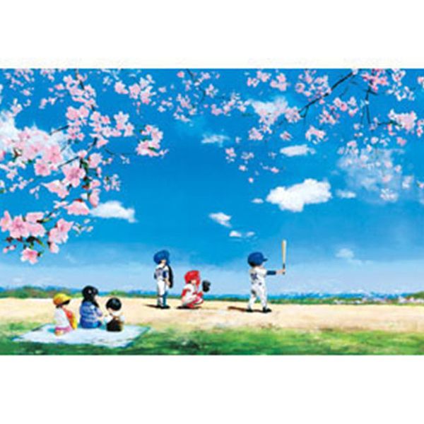 【台製拼圖】夜光-春季棒球賽 (1000片) HM1000-183