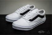 ISNEAKERS VANS OLD SKOOL  白黑 基本款 復古 滑板鞋 V36CL MDC/AG-JH86027