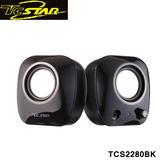 T.c.star 連鈺 二件式USB多媒體喇叭 TCS-2280 TCS2280BK