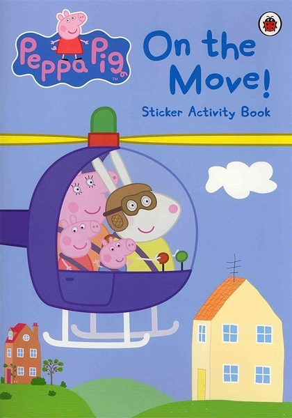 Peppa Pig:On The Move! Sticker Activity Book 佩佩豬與交通工具 貼紙書