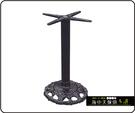 {{ 海中天休閒傢俱廣場 }} C-99 摩登時尚 餐桌腳系列 483-08 鑄鐵餐桌腳/烤黑腳
