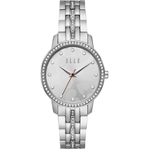【ELLE】/愛戀心型時尚腕錶(男錶 女錶 Watch)/ELL21027/台灣總代理原廠公司貨兩年保固