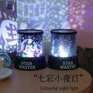 星空燈 浪漫小夜燈滿天星夢幻簡約星空投影燈兒童臥室安睡燈情侶生日禮物