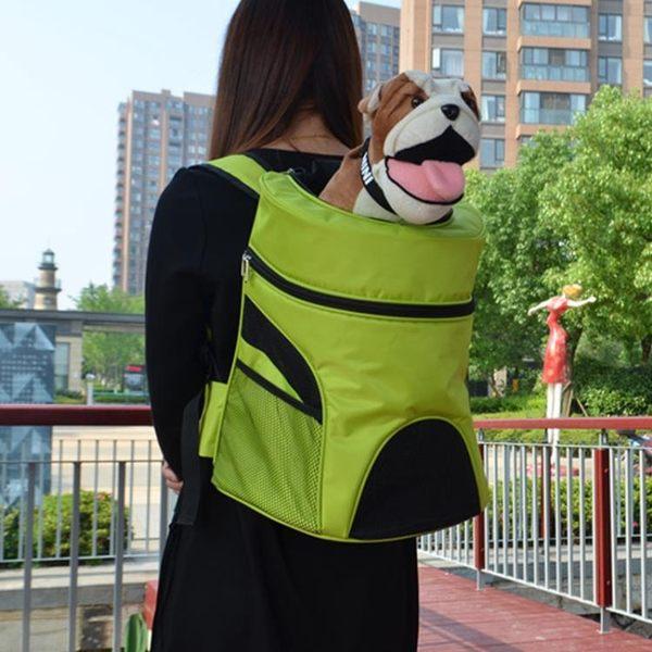 大號寵物包貴賓狗包柯基法斗柴犬外出便攜狗狗背包攜帶雙肩大型犬
