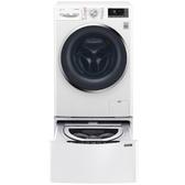 LG 滾筒無烘乾-10.5KG+下層2KG洗衣機WD-S105CW+WT-D200HW