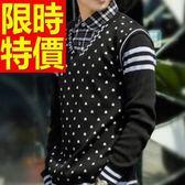 假兩件式襯衫 隨性優質-焦點熱銷長袖男毛衣4色59ac40【巴黎精品】