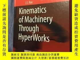 二手書博民逛書店Kinematics罕見of Machinery Through