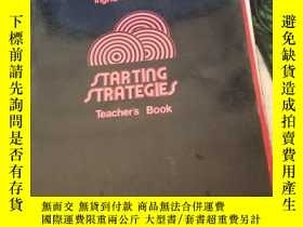 二手書博民逛書店Starting罕見Strategies Teachers Bo