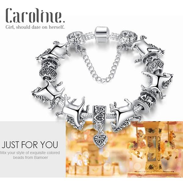 《Caroline》★潘朵拉琉璃珠.優雅時尚品味典雅設計手鍊69297