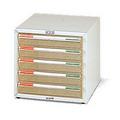 潔保A3 2105 五層效率櫃W48 5xD34xH29cm S1 52012105