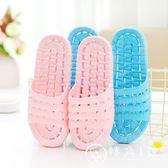 拖鞋 日式室內家用軟底浴室洗澡防滑情侶外穿涼女男家居鞋 轉角1號