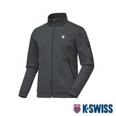 K-SWISS HS Jersey Jacket韓版運動外套-男-灰
