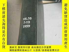 二手書博民逛書店the罕見refractories journal vol.35