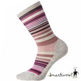 Smartwool 女 木星條紋中長襪『灰/粉霧紫』SW0SW599 美國製|保暖襪|登山襪|運動襪