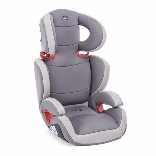 ☆愛兒麗☆Chicco Key 2-3安全汽座/汽車安全座椅-騎士灰 贈豪華車用腳踢墊
