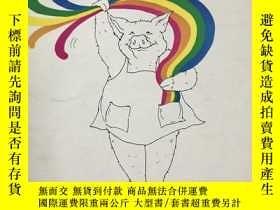 二手書博民逛書店80罕見復古英語繪本《If I Only Had s Rainbow》Y345161 Martha Westo