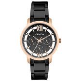 GOTO  月鳴奏曲時尚三眼腕錶-GS0060L-43-341