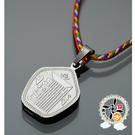 時輪金剛五色線項鍊(高2公分) 【十方佛教文物】