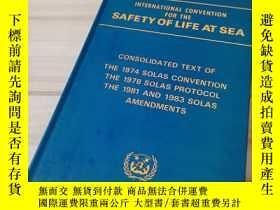 二手書博民逛書店International罕見Convention for the Safety of Life at Sea: