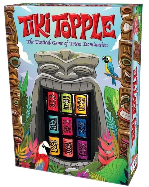 【KANGA GAMES】推倒提基 Tiki Topple (美版)  家庭益智派對桌上遊戲