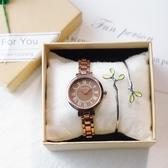 手錶女中學生學院風文藝大氣質小清新百搭少女小錶盤復古小巧細帶 - 風尚3C