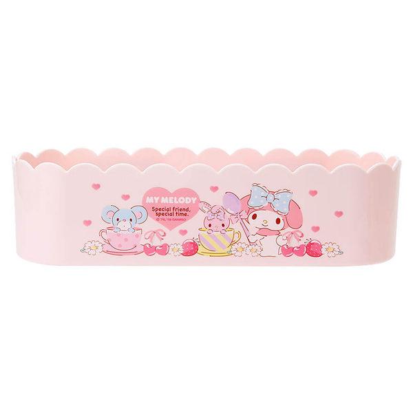 Sanrio 美樂蒂可磁吸式收納盒(甜蜜午茶)★funbox★ 607461N