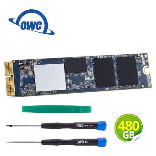 OWC Aura Pro X2 480GB NVMe 適用於Mac mini SSD 含工具及組件 (OWCS3DAPT4MM05K)