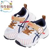 《布布童鞋》asics亞瑟士棒球風格白色寶寶休閒運動鞋(13~16公分) [ J0Z166M ]