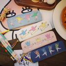 文具盒 韓版簡約可愛筆袋女創意個性搞怪日系學生筆盒文具袋鉛筆袋卡通男 7色 交換禮物