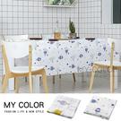 桌布 PEVA 北歐風 防水 長桌巾  野餐墊 桌墊 茶几 居家 廚房 北歐風桌布(小)【L197】MY COLOR