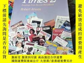 二手書博民逛書店Our罕見Times 2: Readings from Recent PeriodicalsY11245 Ro
